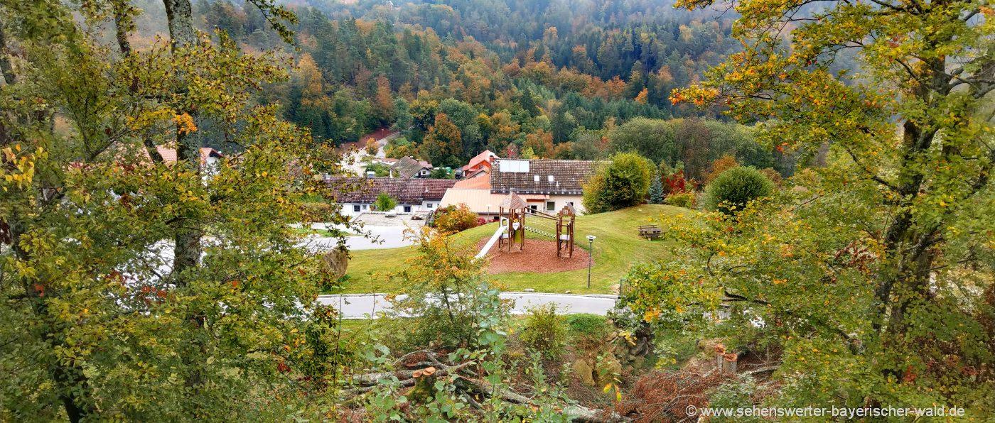 Wanderungen bei Saldenburg Wanderwege im Landkreis Freyung Grafenau
