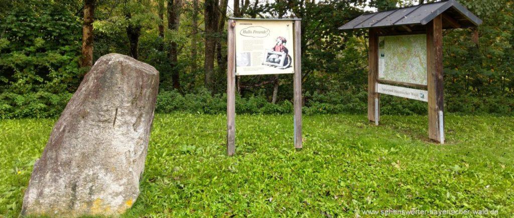 Ökopfad in Saldenburg Siebenschläferweg kleiner Rundweg