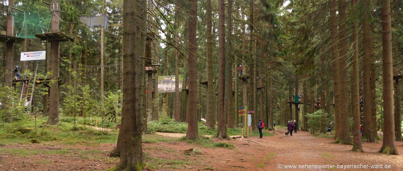 sankt-englmar-hochseilgarten-niederbayern-kletterwald