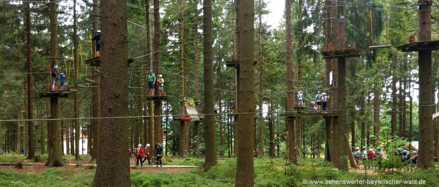 sankt-englmar-kletterpark-bayerischer-wald-hochseilgarten