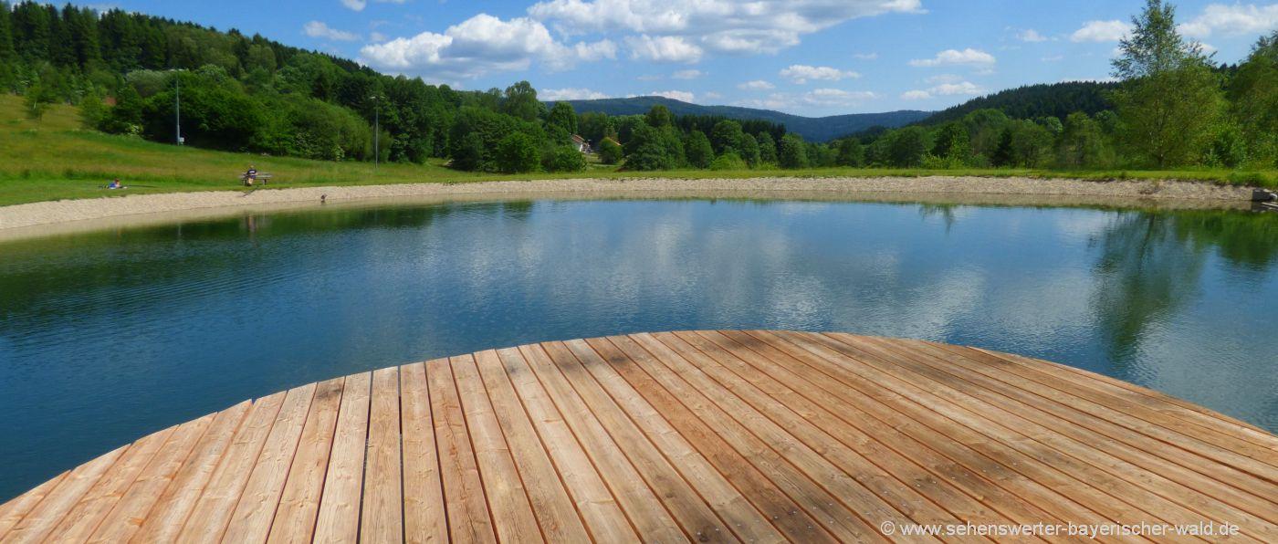sankt-englmar-naturbad-schwimmen-naturbadeweiher-straubing