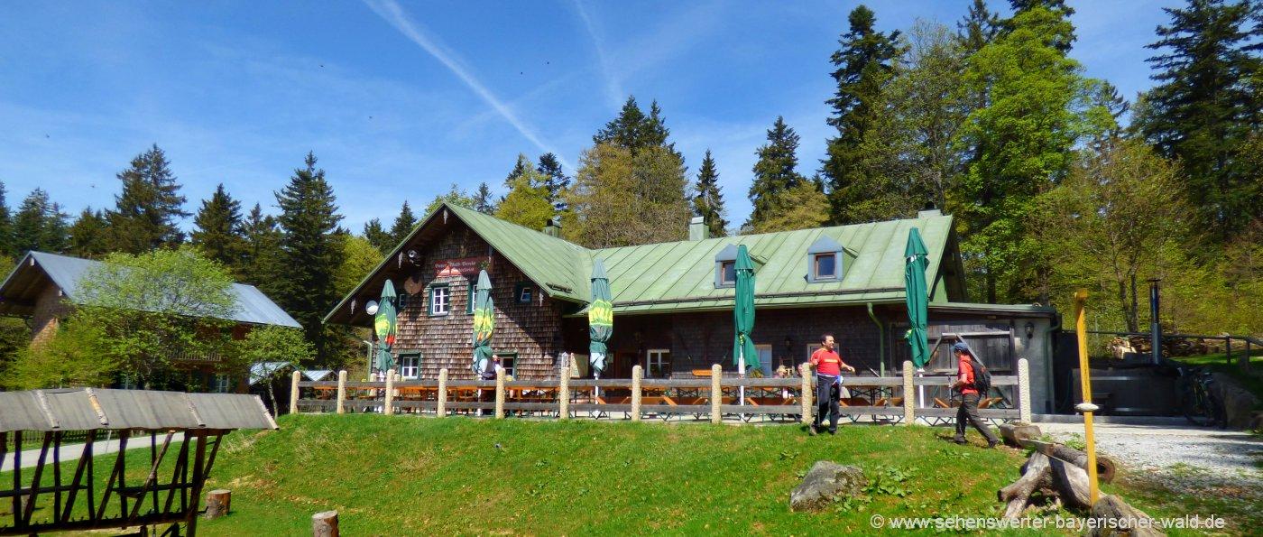 schareben-berghütten-wanderung-bayerischer-wald-tagesausflug