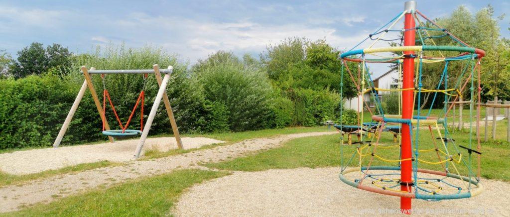 Bewegungspark in Schorndorf Kinderspielplatz im Landkreis Cham