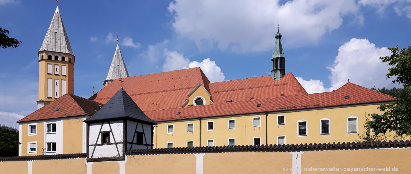 Ausflugsziel Kreuzbergkirche in Schwandorf Kloster in der Oberpfalz