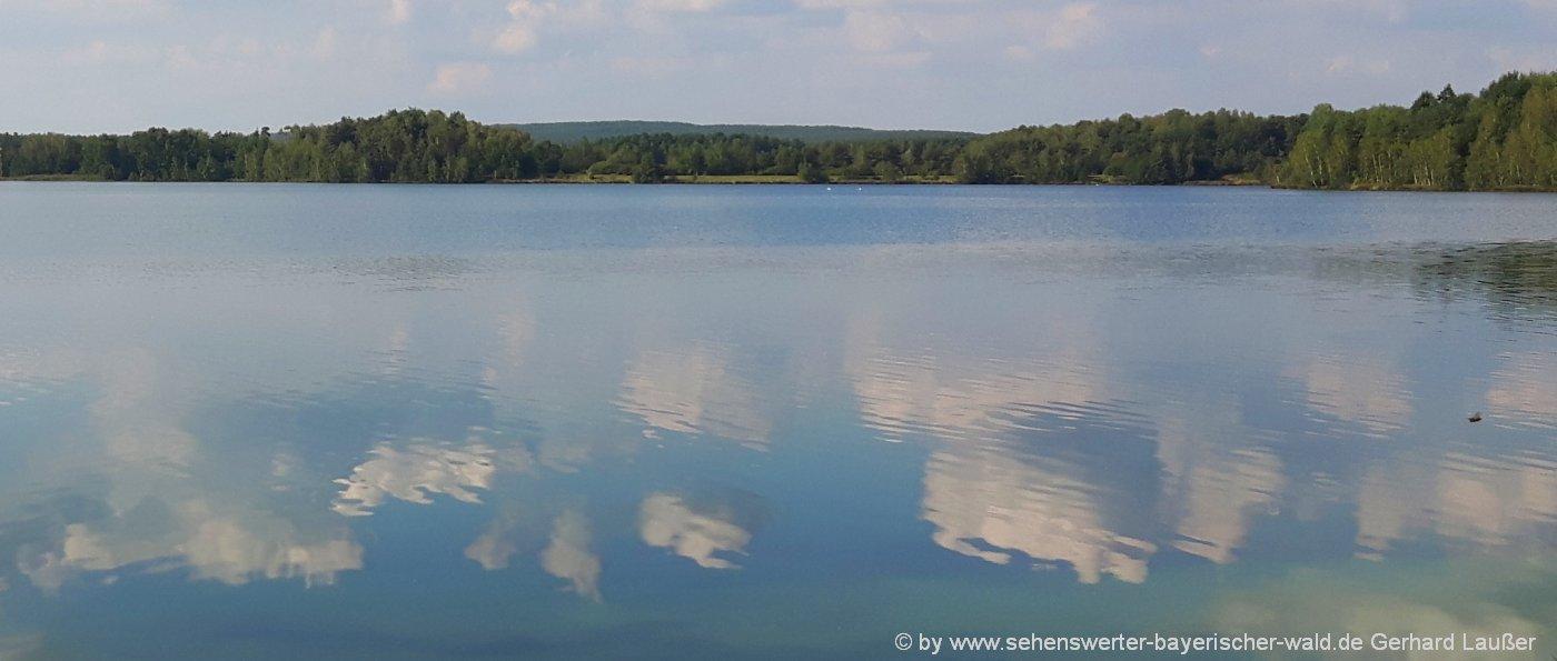 Seen in Niederbayern Freizeitsee Friedenhain See bei Straubing