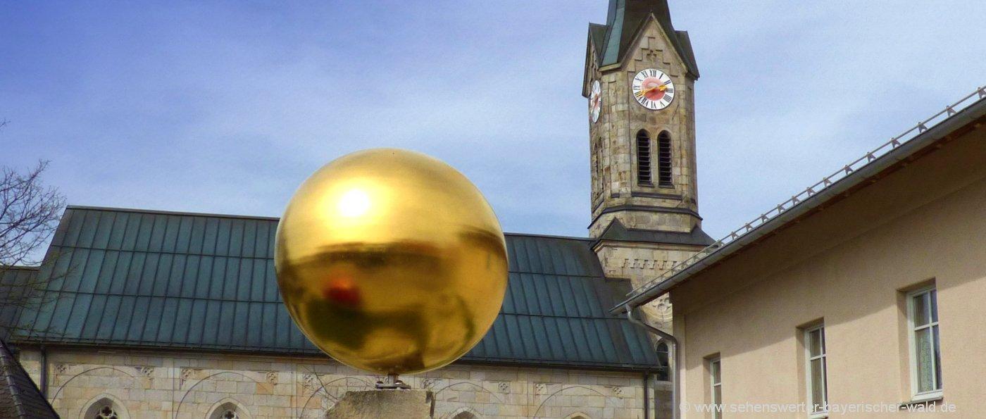 Sehenswürdigkeiten in Sonnen - Planeten Wanderweg ab Pfarrkirche