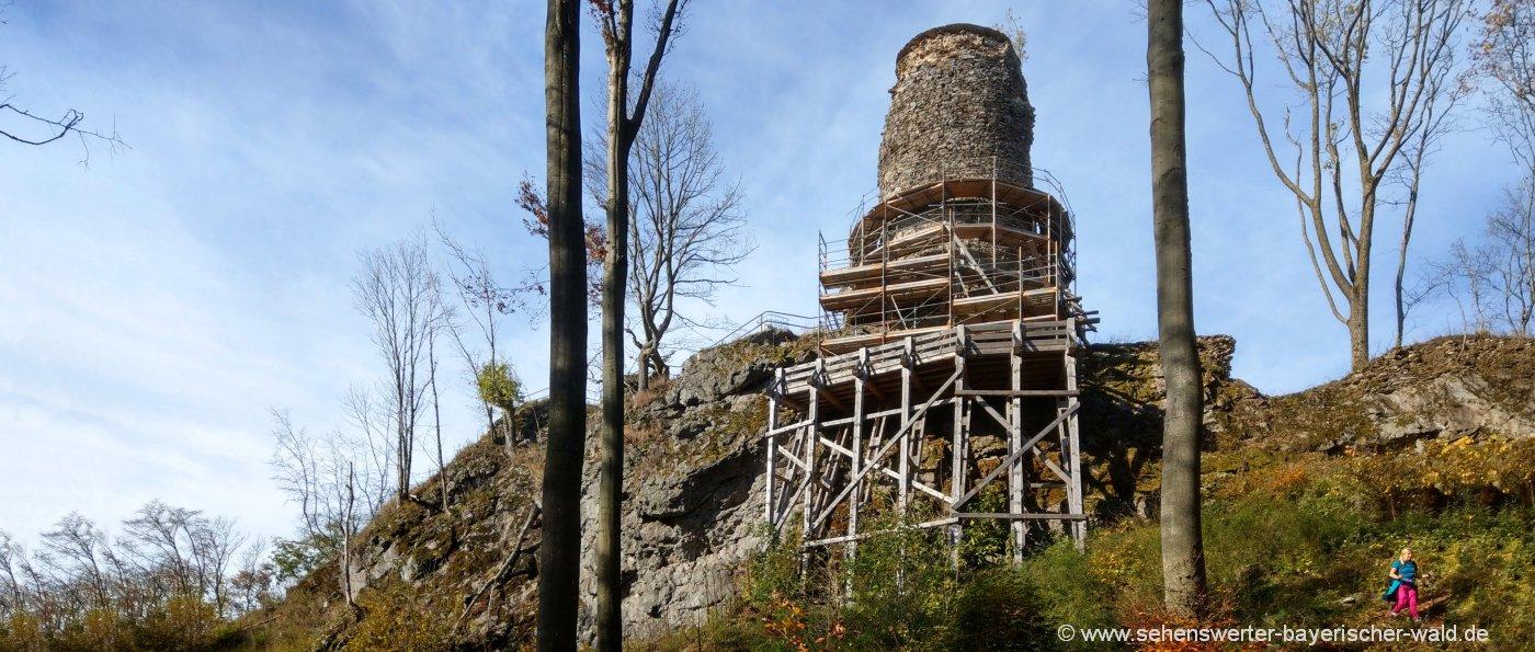 stadlern-rundwanderweg-burgruine-reichenstein-oberpfalz