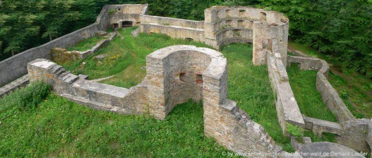 stamsried-burgruine-kürnburg-oberpfalz-sehenswuerdigkeiten-cham-mauerreste-grundrisse