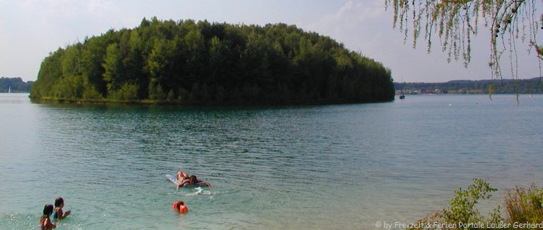 Steinberger See der Freizeitsee für Badeurlaub in der Oberpfalz