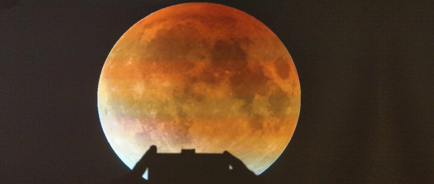 Mond Bilder Planetarium bei Schwandorf Sternwarte in Dieterskirchen in der Oberpfalz