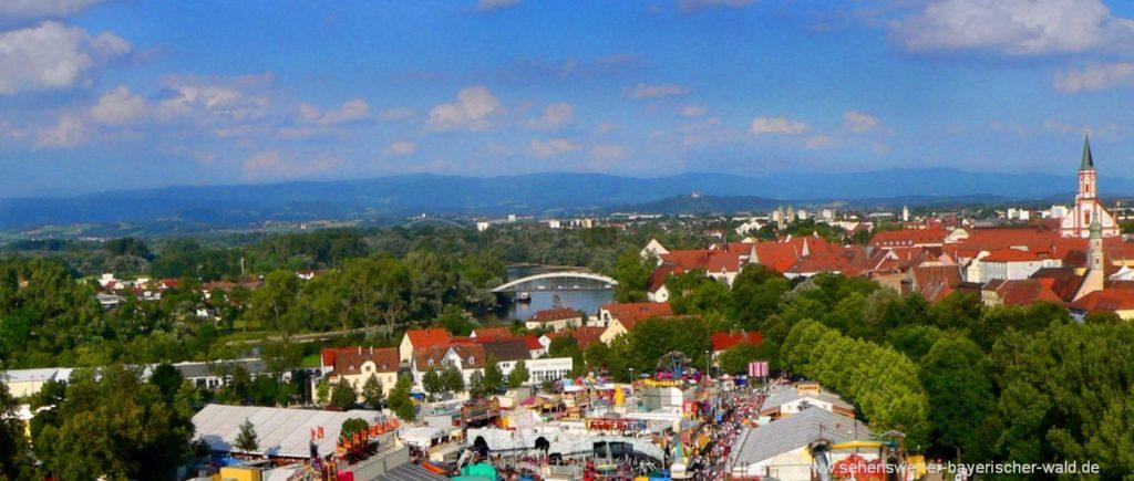 Sehenswürdigkeiten Straubing Ausflugsziele in Niederbayern Bilder der Stadt