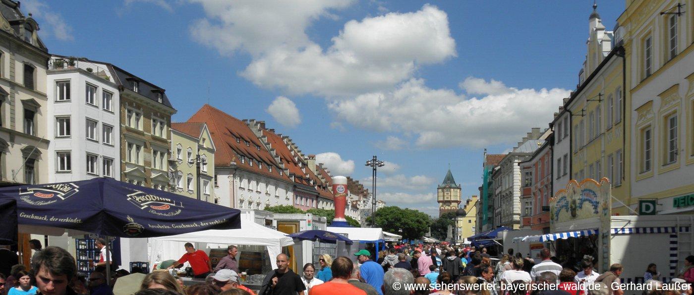 straubing-bürgerfest-stadtplatz-freizeittipps-stadtfest-panorama