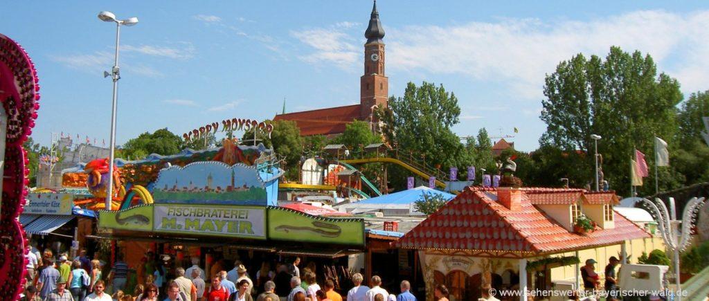 Highlights und Attraktionen in Niederbayern