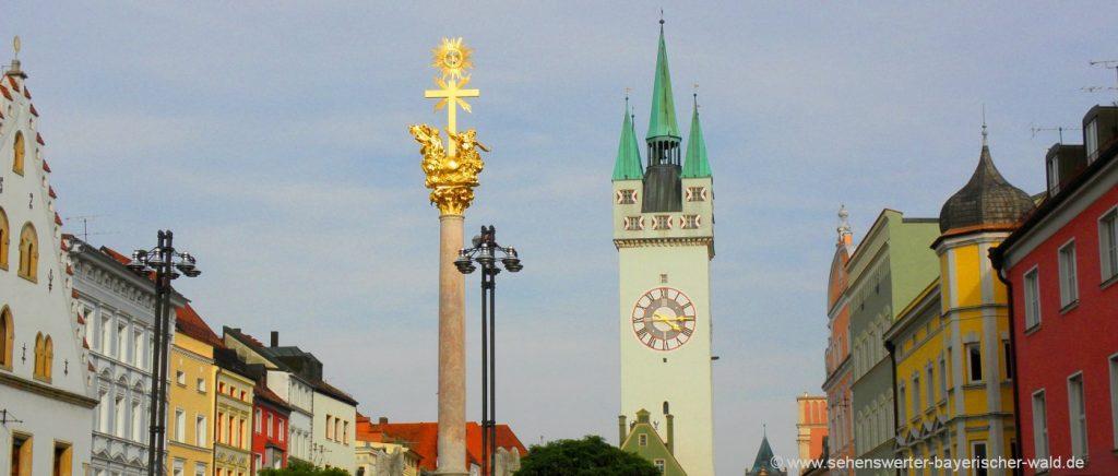 Ausflug nach Straubing Bürgerfest und Stadtfest