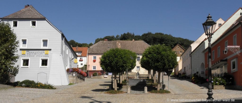 Sehenswürdigkeiten in Tännesberg i.d. Oberpfalz Ortsansicht