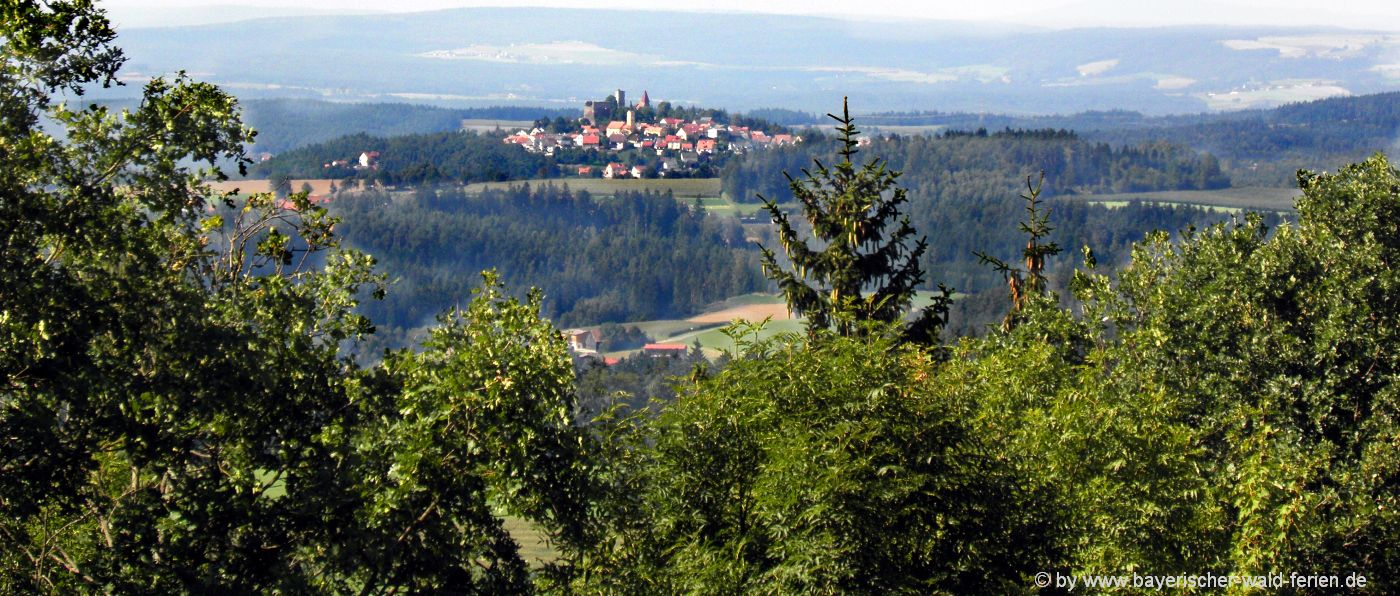 Tännesberg Gologischer Lehrpfad - Wanderführer Oberpfälzer Wald