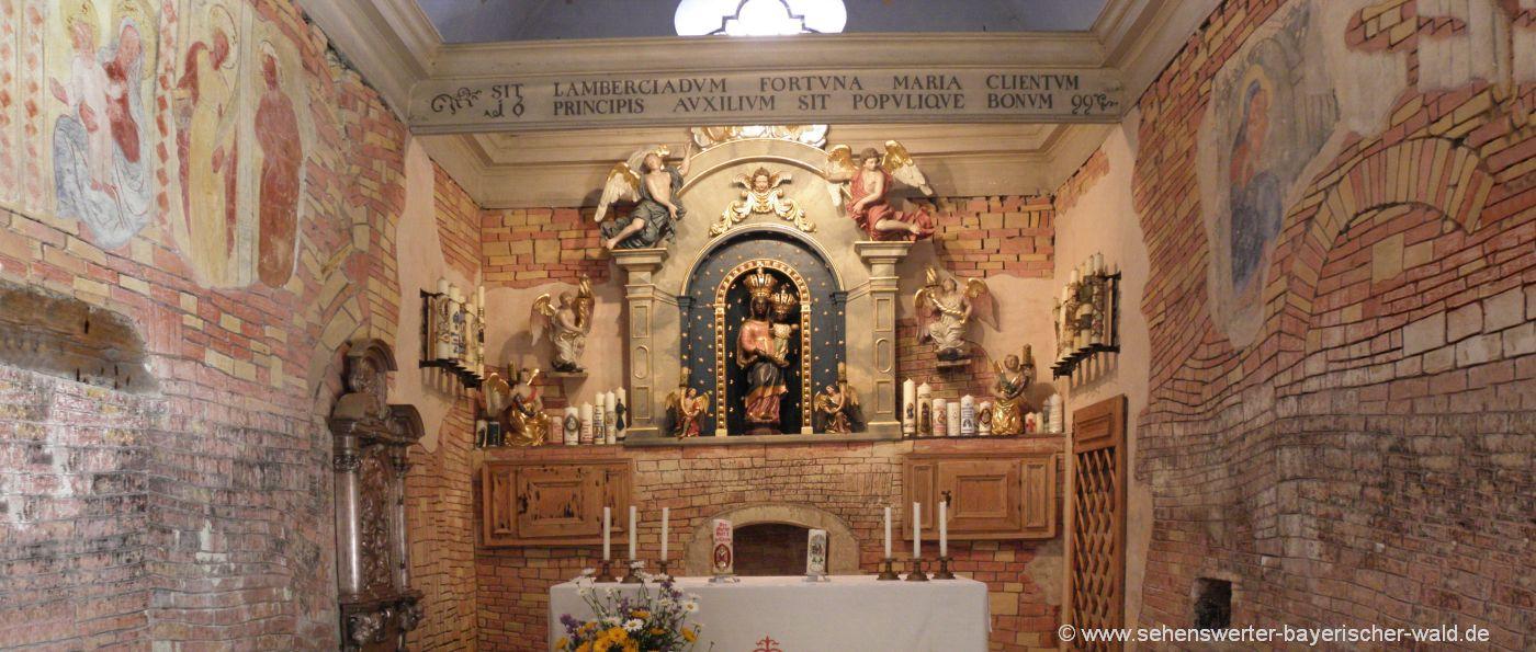 Sehenswürdigkeiten in Thyrnau bei Passau Kirche, Kloster & Kapelle