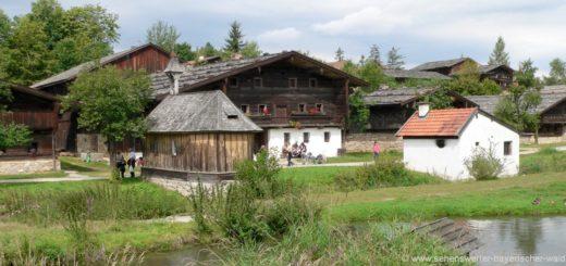 tittling-freiland-museum-bayerischer-wald-teich-bauernhof
