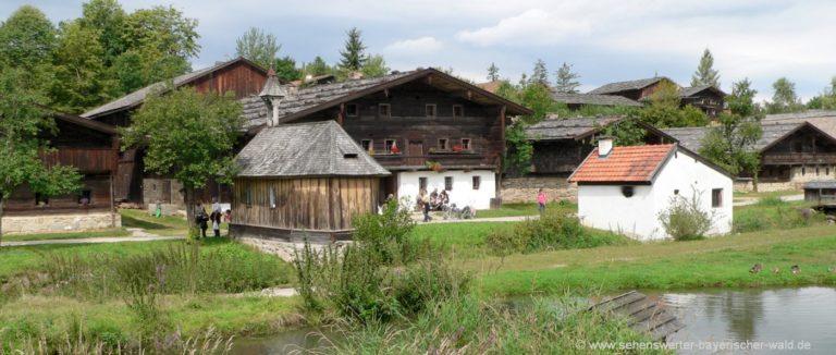 tittling-freiland-museum-bayerischer-wald-teich-bauernhof-panorama-1400