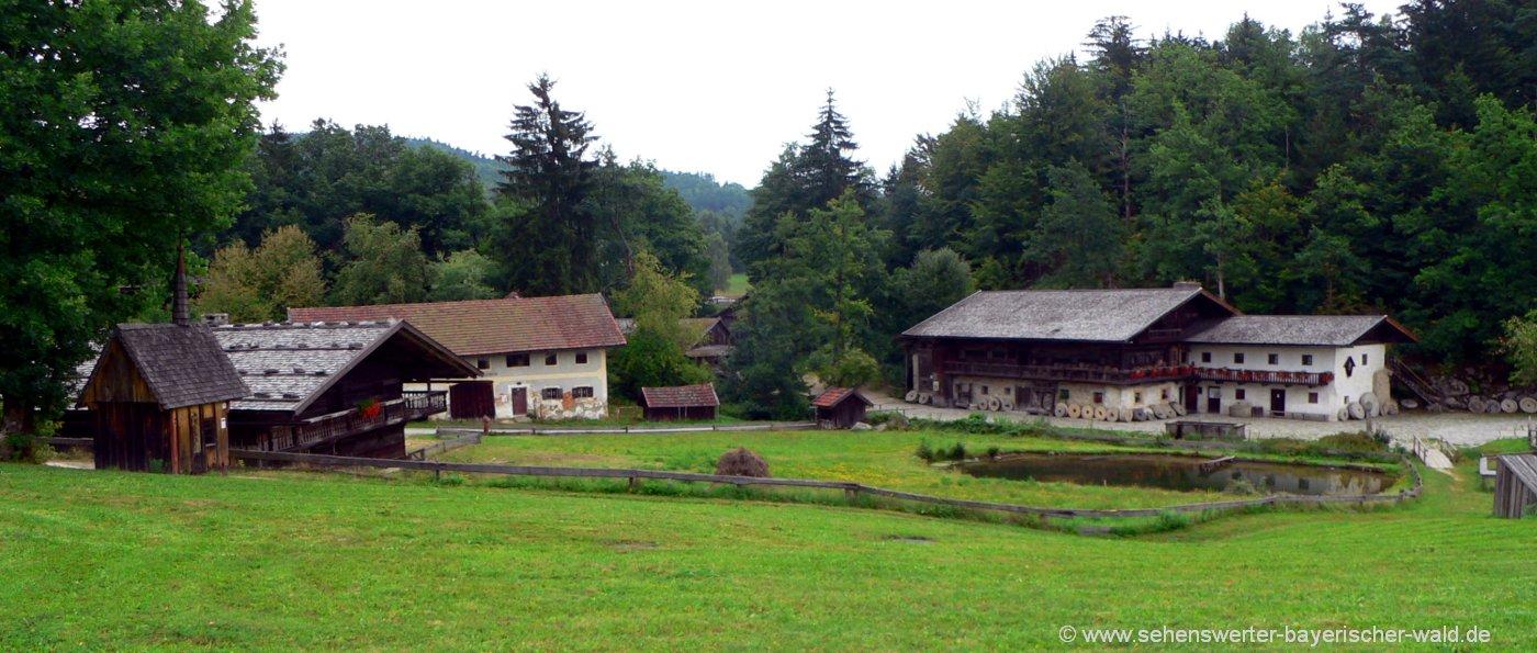 Museumsdorf Bayerischer Wald Bauernhofmusem Tittling