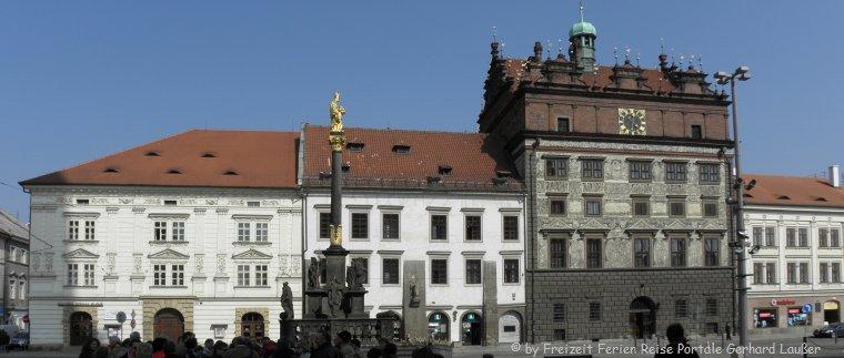 Sehenswürdigkeiten in Tschechien Ausflugsziele Pilsen