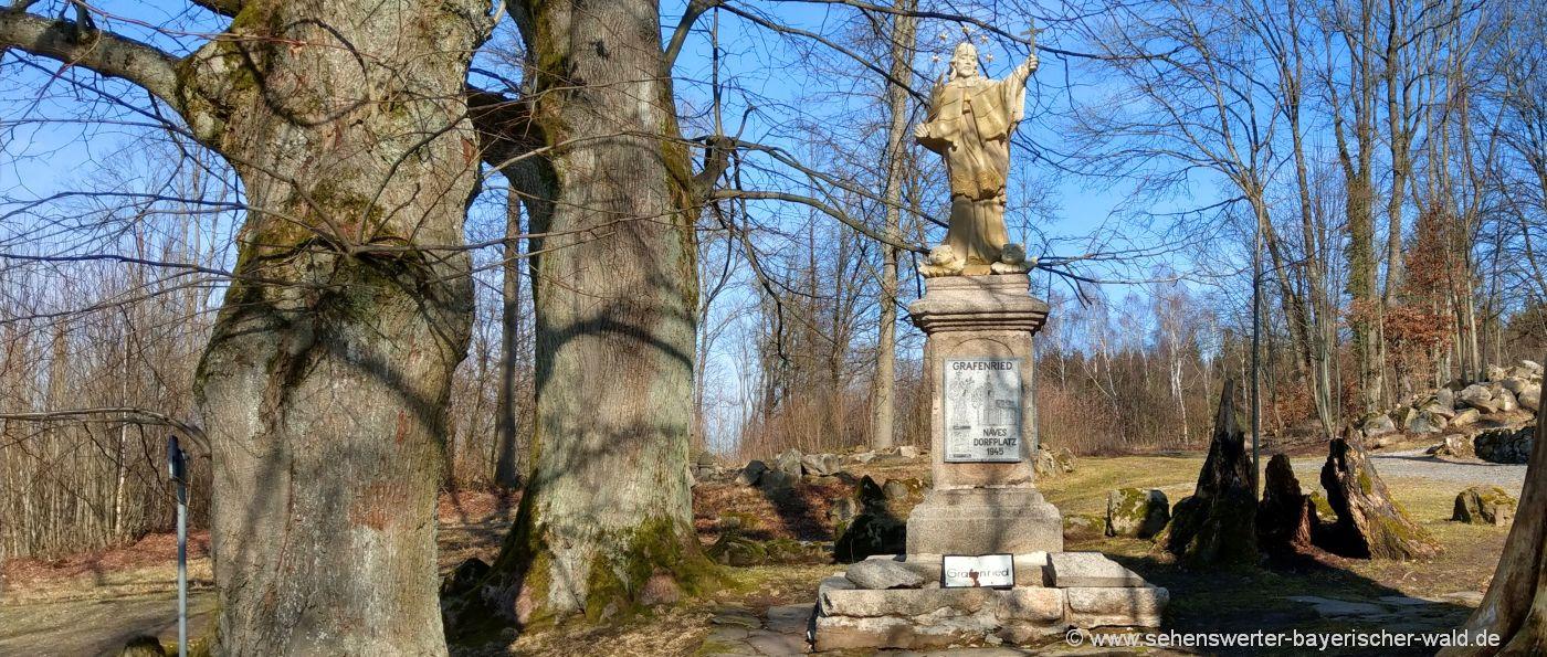 Grafenried Lucina verlassene Orte im Böhmerwald Tschechien