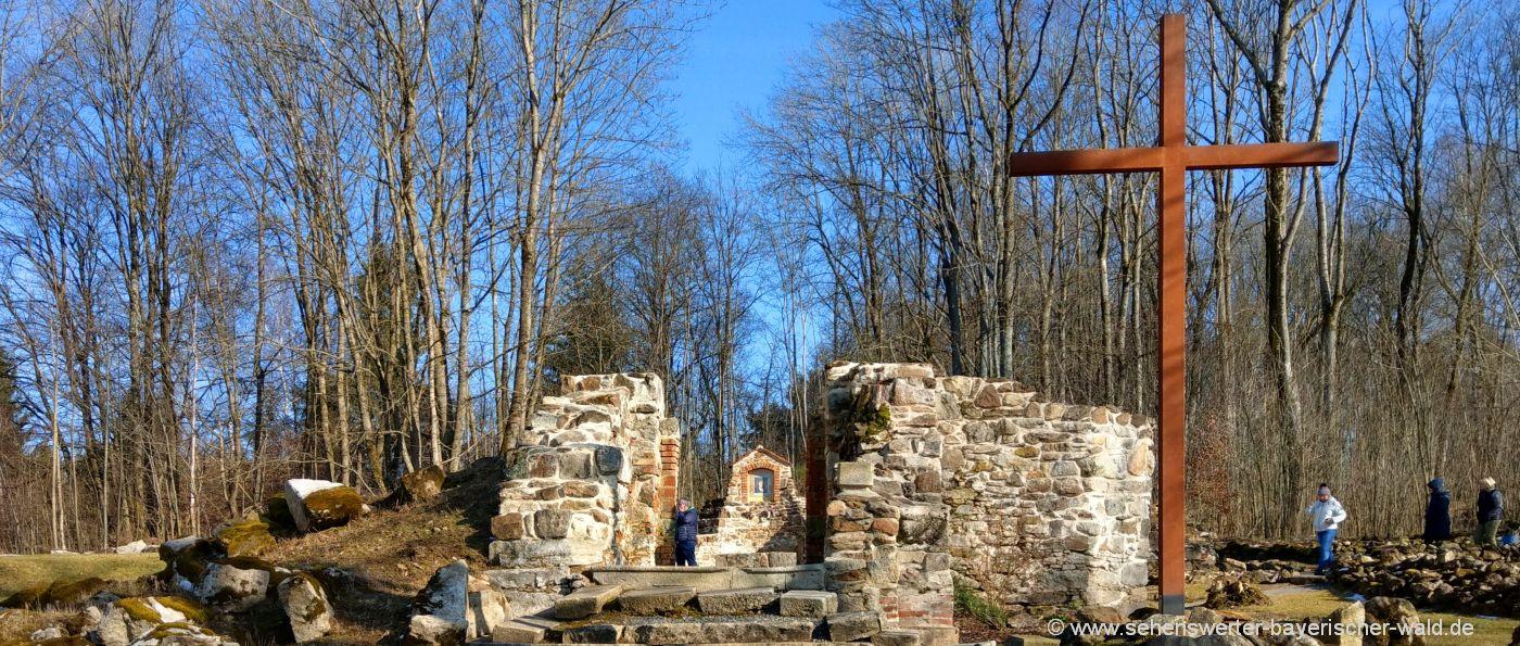 tschechien-grafenried-lucina-verlassenes-dorf-kirchen-ruine