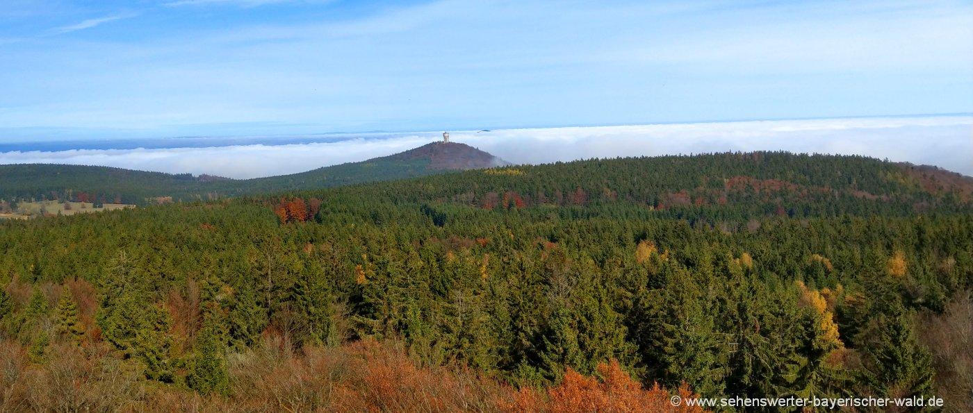 tschechien-plattenberg-velky-zvon-böhmerwaldturm-wandern-aussichtsturm