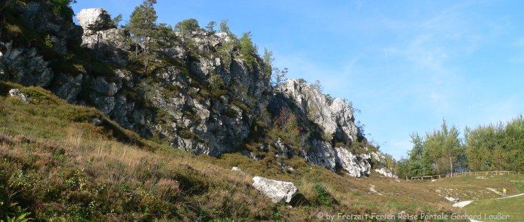 Naturdenkmal Großer Pfahl bei Viechtach Quarzstein Gebirge