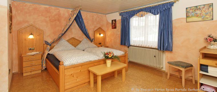 4 Sterne Ferienwohnung mit Auszeichnung Komfort Schlafzimmer