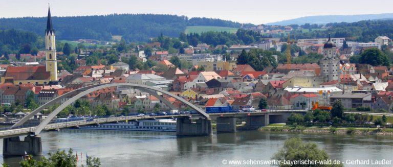 vilshofen-sehenswuerdigkeiten-niederbayern-stadtansicht-kirche-donaubruecke