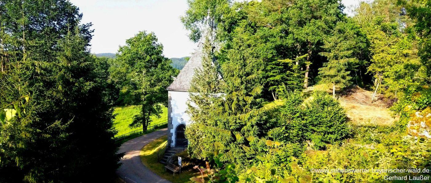Burgkapelle Siegenstein Gemeinde Wald Sehenswürdigkeiten