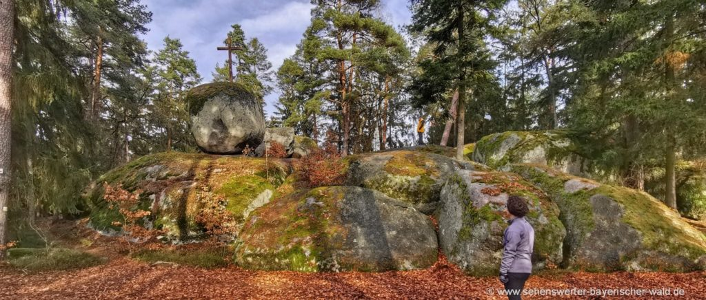 Rundweg zum Pfaffenstein Wanderung ab Wald oder Reichenbach