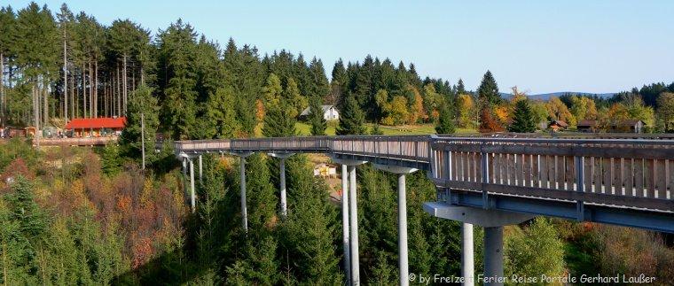 Maibrunn Waldwipfelweg Sankt Englmar Ausflugsziele