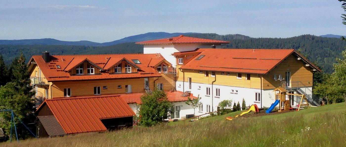Hotel Familienurlaub mit Hund in Bayern Pension Hotel Haus Waldeck