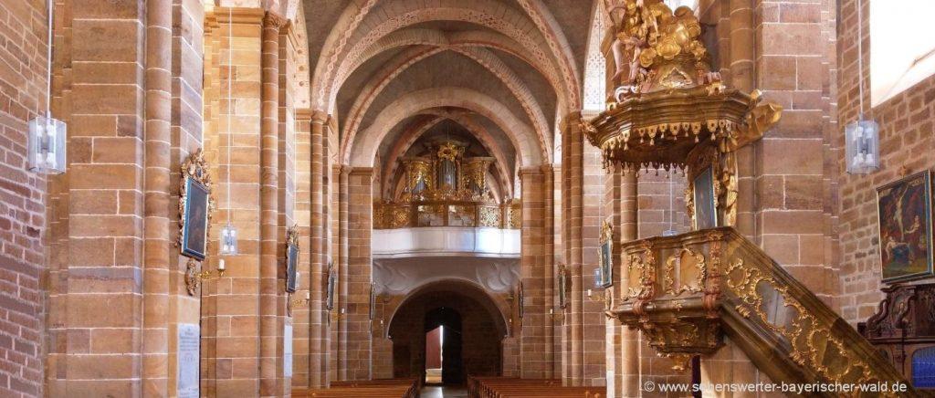 Ausflugsziele & Freizeit in Walderbach Kloster Kirche Sehenswürdigkeiten