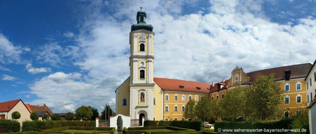 Sehenswürdigkeiten in Walderbach Klosterkirche Ausflugsziele Oberpfalz
