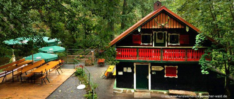 waldkirchen-halleralm-saussbachklamm-ausflugsgasthof