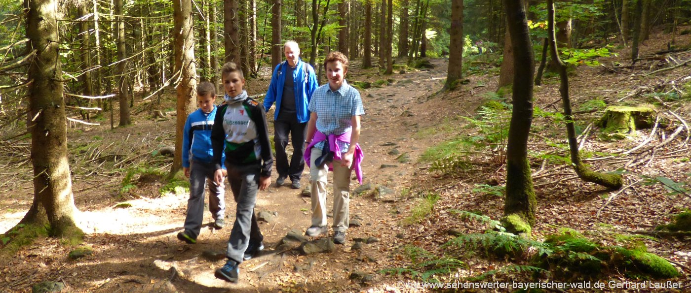 Wandern in Niederbayern Wandertipps in der Oberpfalz für Familien