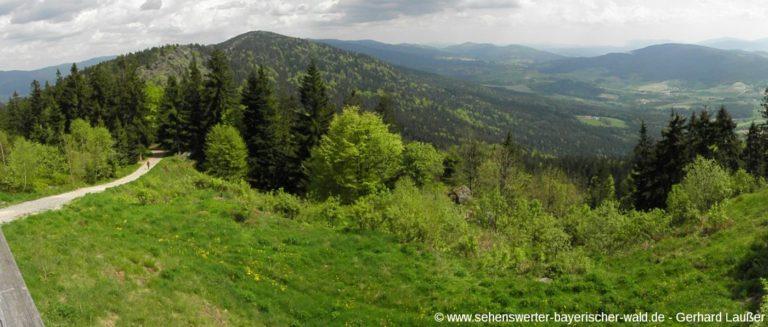 wanderweg-8-tausender-bayerischer-wald-bergwanderung