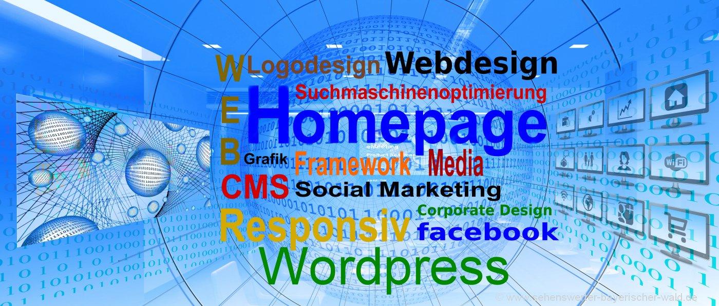 Bayerischer Wald Webdesign in der Oberpfalz und Niederbayern