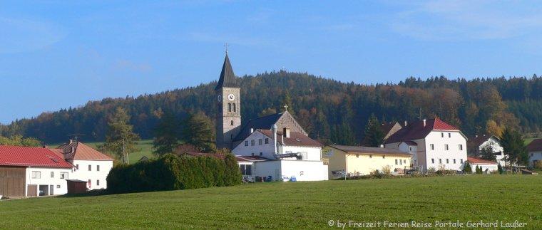 Sehenswürdigkeiten Wegscheid Kirche in Thalberg