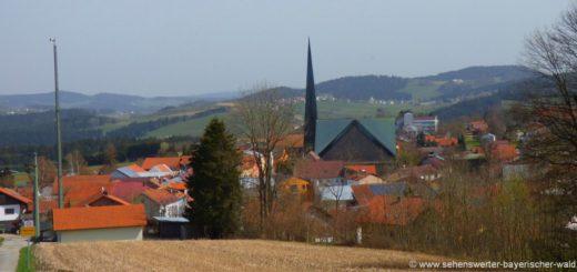 sehenswürdigkieten-wegscheid-bayerischer-wald-ausflugsziele