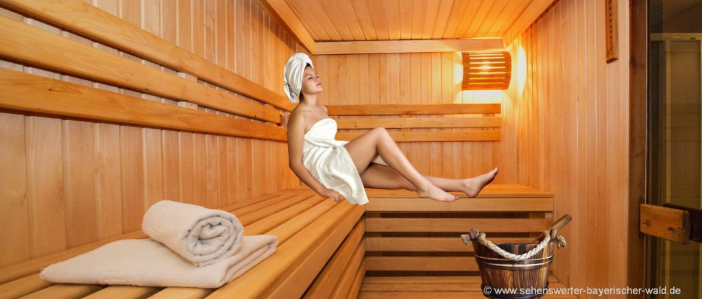 Wellnessurlaub Bayerischer Wald Wellness Kurzurlaub mit Sauna