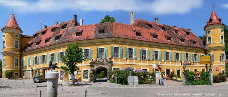 wiesent-schloss-woerth-donau-bauwerk-oberpfalz-highlight