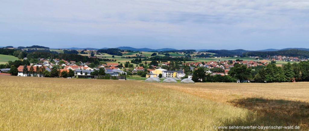Ausflugsziele & Aussichtspunkt auf Willmering und Waffenbrunn