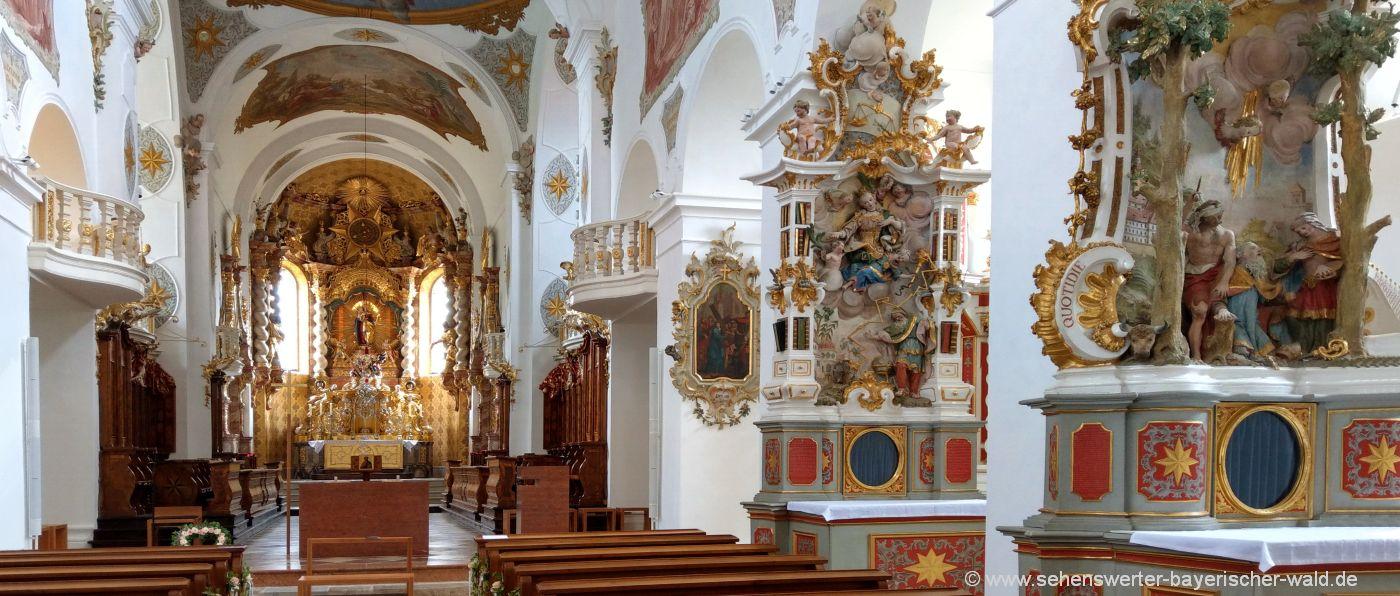 windberg-kloster-kirche-altar-sehenswürdigkeiten-niederbayern