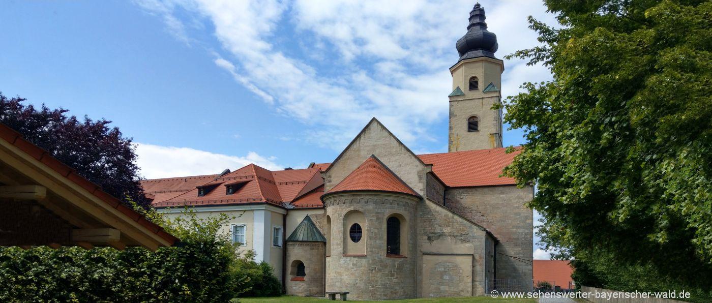 windberg-kloster-kirche-aussenansicht-ausflugsziele-niederbayern