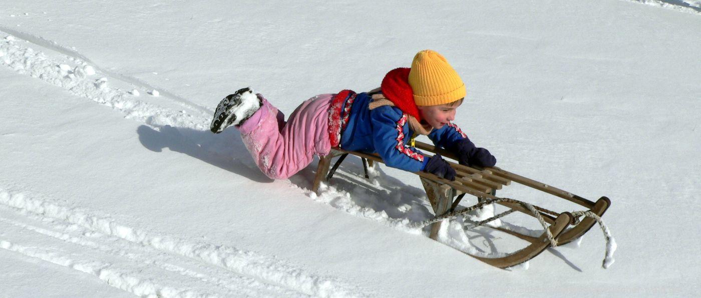 winterurlaub-rodeln-bayerischer-wald-schlittenfahren-schnee