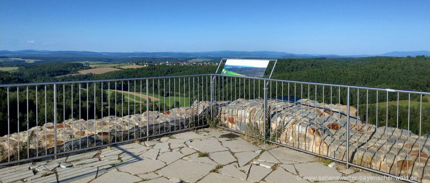 zell-burgruine-oberpfalz-aussichtspunkt-landkreis-cham